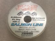 Jackpot Salmon Line 0,60mm leader line